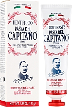 """Profumi e cosmetici Dentifricio """"Original"""" - Pasta Del Capitano Original Recipe Toothpaste"""