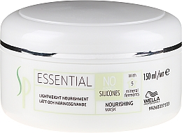 Profumi e cosmetici Maschera capelli nutriente - Wella SP Essential Nourishing Mask