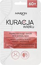 Profumi e cosmetici Maschera illuminante per collo e decollete - Marion Age Treatment Mask 60+