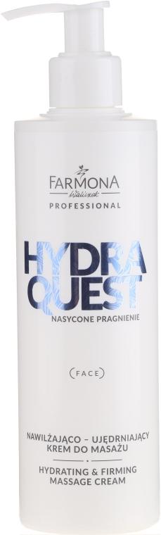 Crema per massaggi al collagene - Farmona Professional Hydra Quest Hidrating & Firming Massage Cream