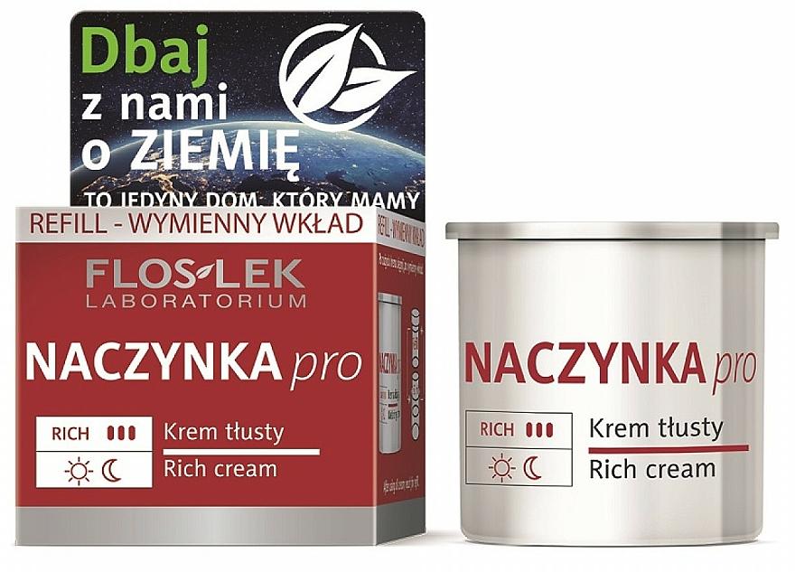 Crema viso - Floslek Dilated Capillaries Rich Cream Refill (ricarica)