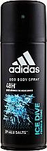 Profumi e cosmetici Adidas Ice Dive - Deodorante