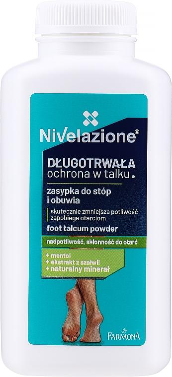 Talco rinfrescante per piedi - Farmona Nivelazione Foot Talcum Powder