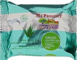 Profumi e cosmetici Sapone bio organico con aloe vera e aroma di anguria e melone - Ma Provence Organic Soap