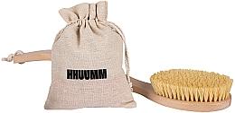 Profumi e cosmetici Spazzola per massaggio corpo con fibra di tampico - Hhuumm № 6