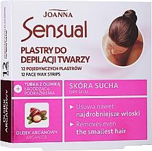 Profumi e cosmetici Strisce depilatorie viso, con olio di argan - Joanna Sensual Depilatory Face Strips