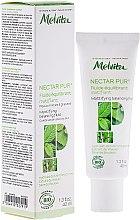 Profumi e cosmetici Fluido viso opacizzante - Melvita Nectar Pur Fluide Hydratant Matifiant