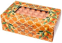 """Profumi e cosmetici Sapone da massaggio """"Arancia"""" - Gori 1919 Massage Scrub Soap Orange"""