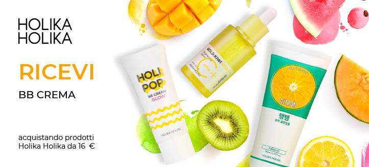 Acquistando prodotti Holika Holika da 16  €, ricevi in regalo una BB Crema