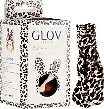Profumi e cosmetici Cerchio, leopardo - Glov Spa Bunny Ears Headband Safari Edition