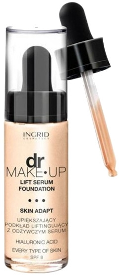 Fondotinta con effetto lifting - Ingrid Cosmetics Lift Serum Foundation SPF8