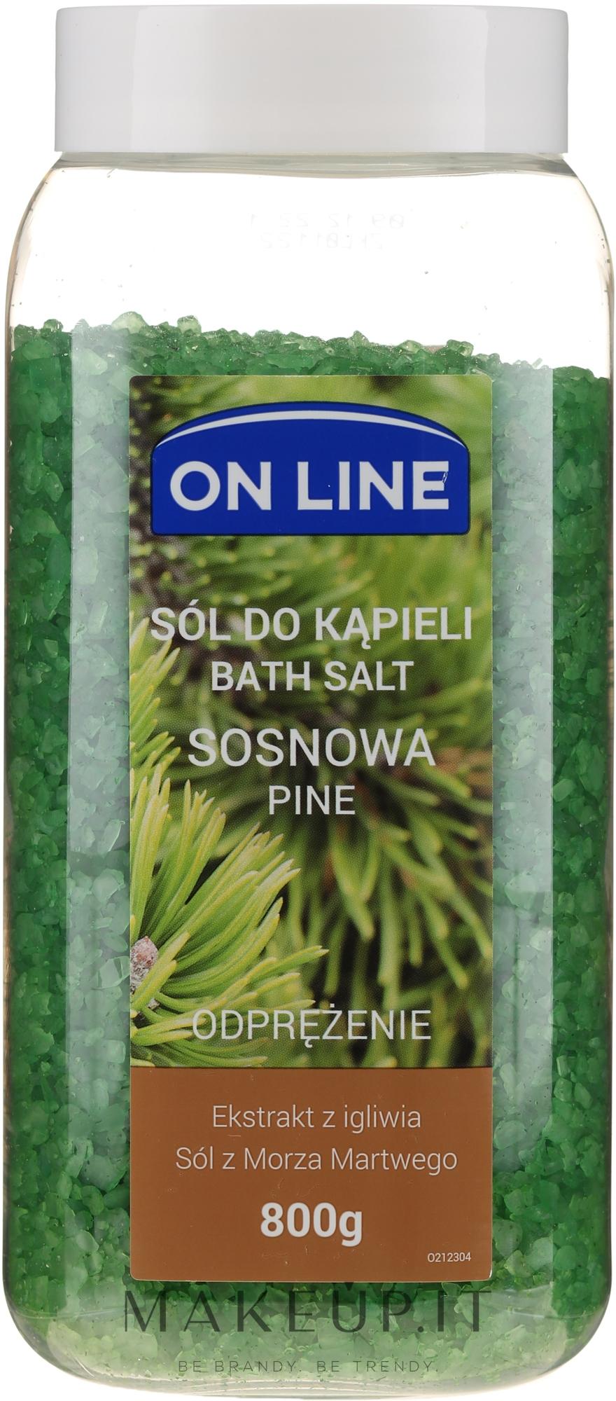 "Sale da bagno ""Pino"" - On Line Pine Tree Bath Salt — foto 800 g"