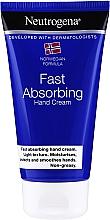Crema mani - Neutrogena Fast Absorbing Hand Cream — foto N1