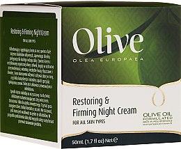 Profumi e cosmetici Crema viso rivitalizzante e rassodante da notte - Frulatte Olive Restoring Firming Night Cream