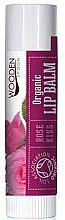 Profumi e cosmetici Balsamo labbra - Wooden Spoon Lip Balm Rose Kiss
