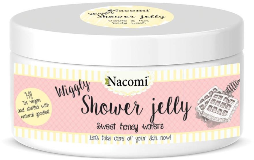 "Gelatina da doccia ""Wafer di miele dolce"" - Nacomi Shower Jelly Sweet Honey Wafers — foto N1"