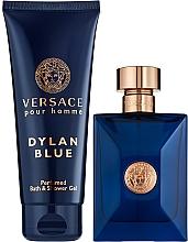 Profumi e cosmetici Versace Pour Homme Dylan Blue - Set (edt/100ml + sh/gel/100ml)