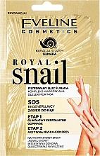 Profumi e cosmetici Peeling e maschera mani - Eveline Cosmetics Royal Snail Sos Regenerating Hand Treatment