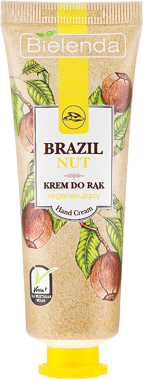 "Crema mani ""Noce del Brasile"" - Bielenda Regenerating Hand Cream"
