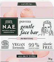 Profumi e cosmetici Sapone per viso - N.A.E. Purezza Gentle Face Bar