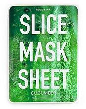 "Profumi e cosmetici Maschera viso ""Cetriolo"" - Kocostar Slice Mask Sheet Cucumber"