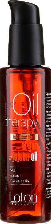 Olio viso e corpo - Loton Argan & Jojoba Oil