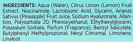 Idro-essenza illuminante - Bielenda Fresh Juice Brightening Hydro Essence Pineapple — foto N4