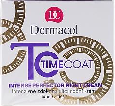 Crema viso, da notte - Dermacol Time Coat Intense Perfector Night Cream — foto N1