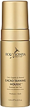 Profumi e cosmetici Mousse autoabbronzante al cacao - Eco by Sonya Eco Tan Cacao Tanning Mousse