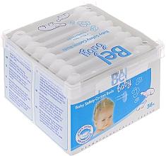 Profumi e cosmetici Bastoncini di cotone, bambini, 56 pz - Bel Baby Safety Cotton Buds