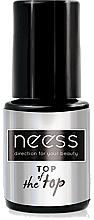 Profumi e cosmetici Top per smalto gel - Neess Top Of The Top For Hybrid Varnish