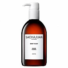 Profumi e cosmetici Gel doccia idratante e lenitivo al profumo di bergamotto e limone - Sachajuan Ginger Flower Body Wash