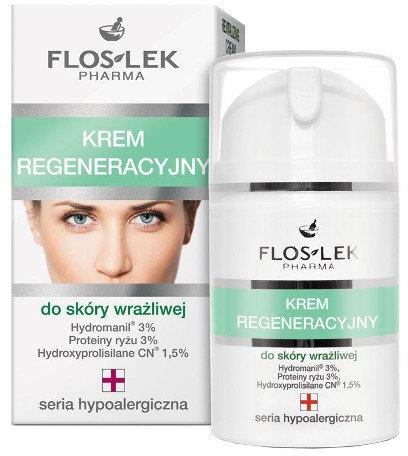 Crema rigenerante per pelle sensibile - Floslek Face Cream — foto N1