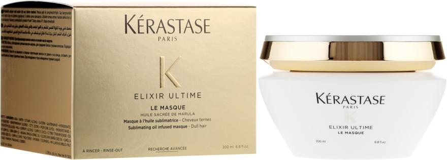 Maschera nutriente per capelli opachi - Kerastase Elixir Ultime Le Masque