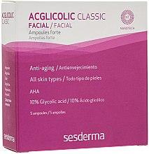 Profumi e cosmetici Fiale di acido glicolico - SesDerma Laboratories Acglicolic Classic Ampoules Forte