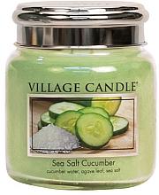 Profumi e cosmetici Candela profumata - Village Candle Sea Salt Cucumber Candle