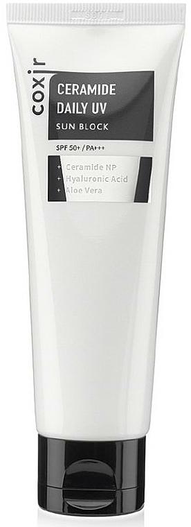 Crema solare leggera - Coxir Ceramide Daily UV Sun Block