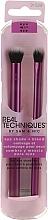 Profumi e cosmetici Set pennelli trucco - Real Techniques Eye Shade + Blend