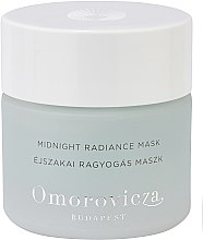 Profumi e cosmetici Maschera viso da notte - Omorovicza Midnight Radiance Mask