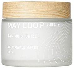 Profumi e cosmetici Crema viso idratante con estratto di succo di acero - May Coop Raw Moisturizer