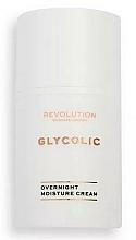Profumi e cosmetici Crema viso glicolica, da notte - Revolution Skincare Glycolic Overnight Moisture Cream
