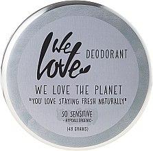 """Profumi e cosmetici Deodorante naturale alla crema """"So Sensitive"""" - We Love The Planet Deodorant So Sensitive"""