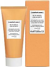 Profumi e cosmetici Crema solare viso - Comfort Zone Sun Soul Face Cream SPF 15