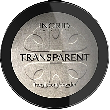 Profumi e cosmetici Polvere compatta trasparente - Ingrid Cosmetics HD Beauty Innovation Transparent Powder