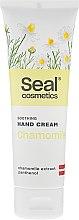 Profumi e cosmetici Crema mani lenitiva con camomilla - Seal Cosmetics Soothing Hand Cream