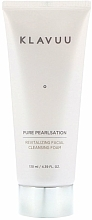 Profumi e cosmetici Schiuma detergente con estratto di perla - Klavuu Pure Pearlsation Revitalizing Facial Cleansing Foam