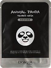 "Profumi e cosmetici Maschera in tessuto per viso a forma di animale ""Panda"" - Bioaqua Animal Panda Tender Mask"