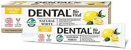 """Profumi e cosmetici Dentifricio """"Bianco naturale"""" - Dental Bio Vital Natural White Toothpaste"""