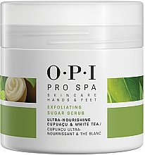 Profumi e cosmetici Scrub con cristalli di zucchero per i piedi - O.P.I ProSpa Skin Care Hands&Feet Exfoliating Sugar Scrub