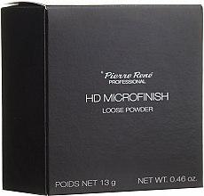 Profumi e cosmetici Cirpia in polvere con effetto HD - Pierre Rene Professional HD Microfinish Loose Powder